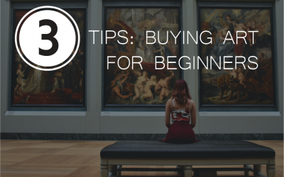 3 Tips: How to Get Into Buying Art?