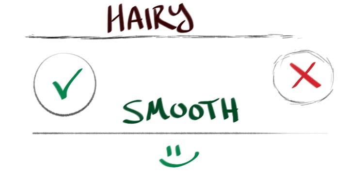 Beginner Artist Fail: Hairy Lines Verses Smooth Lines